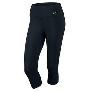 Nike Women's Dri-FIT Running Capris Medium black